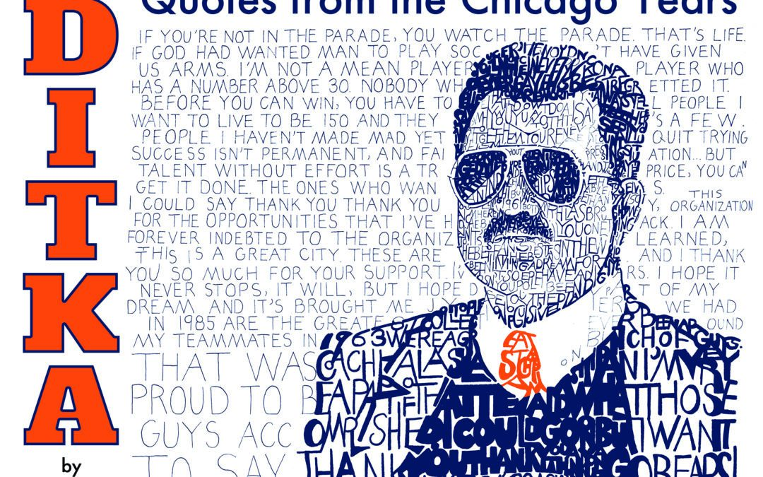 Da Ditka Book is Coming