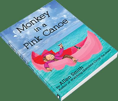 Monkey in a Pink Canoe